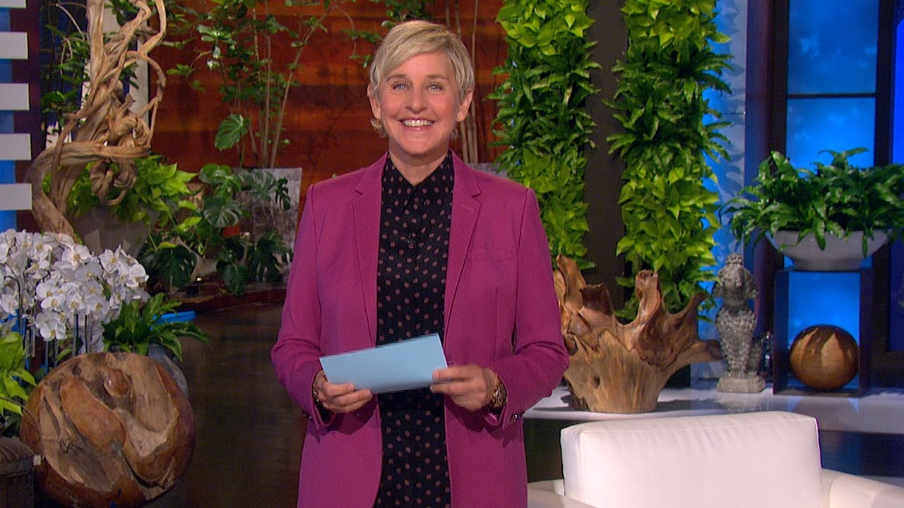 Ellen Checks In on Audience Members' New Year's Resolutions