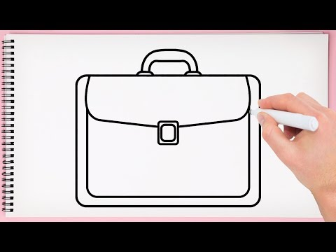 How to Draw Bag Step by Step Learn Easy and Simple Drawing a