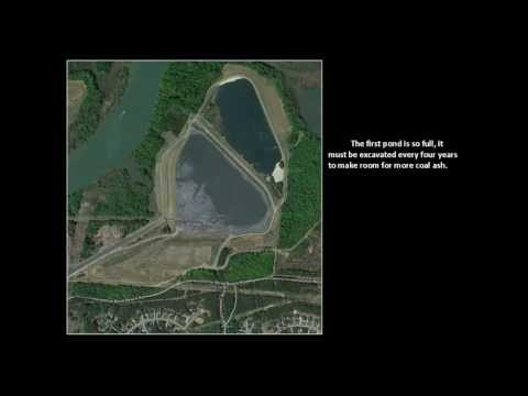 Duke Energy Coal Ash Ponds + Charlotte, NC's drinking water