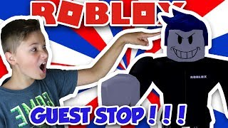 THE ONLY PLACE IN ROBLOX WHERE GUESTS CAN TROLL YOU | ROBLOX GUEST OBBY