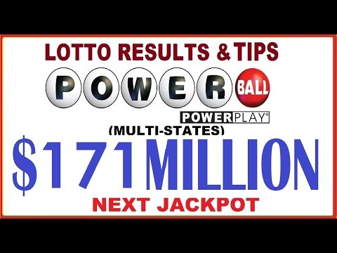 Powerball Lottery Results & Predictions $171 Million Jackpot - December 21, 2019