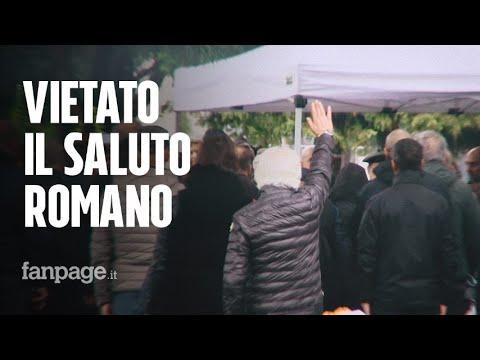 """Milano, manifestazione in ricordo della repubblica di Salò: """"Il saluto romano ci viene spontaneo"""""""