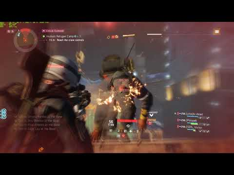 Tom Clancy's The Division (massive lag demo with randoms)