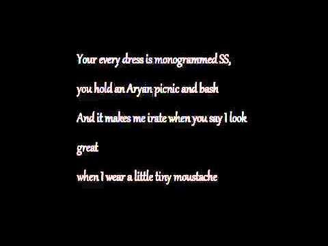 Stephen Lynch   Little Tiny Mustache Lyrics