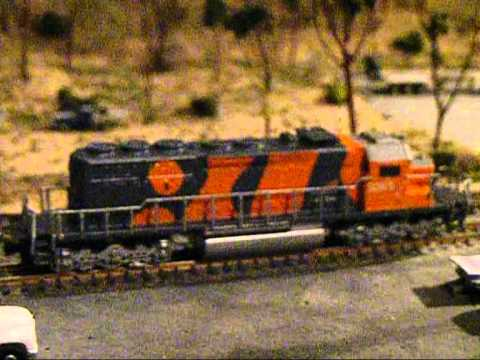 N scale bhp custom paint and decal bubble colours