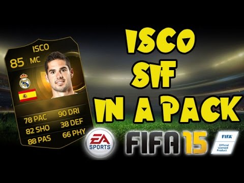 REACCION ISCO SIF IN A PACK FIFA 15 ULTIMATE TEAM