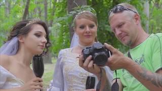 """Бэкстейдж фотосессии - """"Безумные невесты"""""""