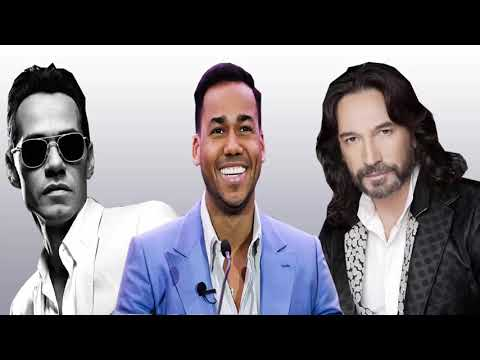 Marc Anthony, Romeo Santos, Marc Antonio Solis Exitos ROMánticos