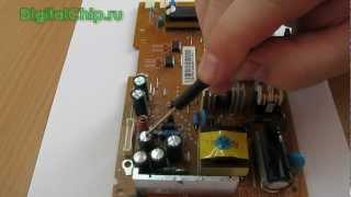 Ремонт монитора LG Flatron L1953s(Ремонт монитора LG Flatron L1953s http://digitalchip.ru/kak-ya-chinil-sgorevshiy-monitor., 2012-09-27T20:30:52.000Z)