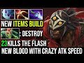New Bloodseeker in 7.20 is so Damn Crazy | He's Back With New Build to Counter Medusa Midlane Dota 2