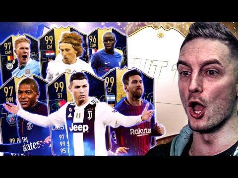 E' SUBITO ICON!!! TOTY SUPER PACK OPENING! - ATTACCANTI & CENTROCAMPISTI [FIFA 19]