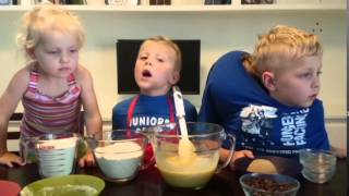 Kid's Cooking Show Chocolate Chip Cookies