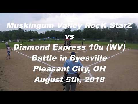 MVRS 10u vs Diamond Express WV - Battle in Byesville - August 5th, 2018
