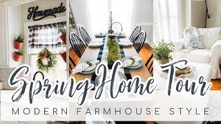 Spring Home Tour 2020 | Modern Farmhouse Home Decor Tour