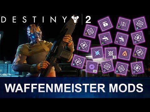 Destiny 2 Waffenmeister: Waffen & Rüstungs Mods (Deutsch/German)