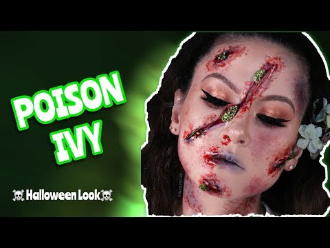 POISON IVY Halloween Makeup Tutorial 2019 step by step | Liz Mua thumbnail