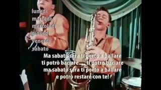 Sabato sera - итальянская песня с субтитрами - учим итальянский онлайн