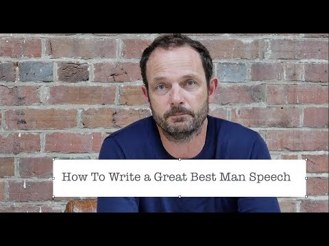Best Man Speech Ideas Examples & Structure - The Complete Guide