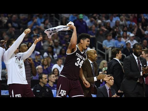 NCAA Tournament upset: Texas A&M ousts defending-champion North Carolina