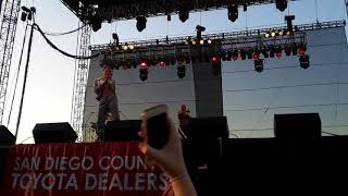 "Tinashe ""Ride Of Your Life"" Live Del Mar Fair 2018"