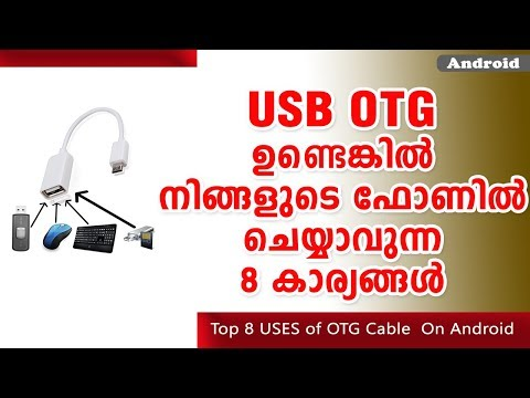 Top 8 USES of OTG Cable  On Android