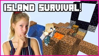 TRYING TO SURVIVE ON AN ISLAND!