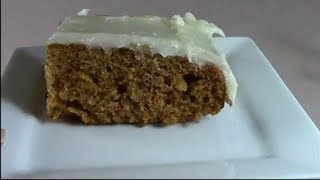 Carrot Cake And Cream Cheese Frosting