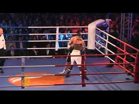 Afghan Boxer Wins Kabul's 'Fight 4 Peace'
