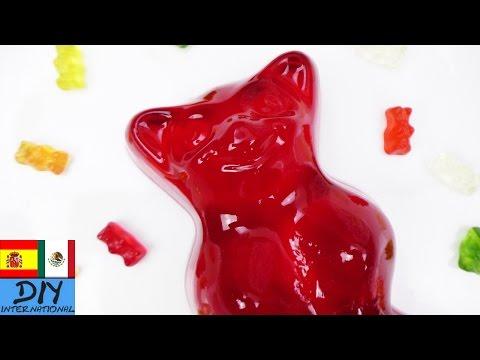 Osito de goma HARIBO | Oso de gelatina GIGANTE