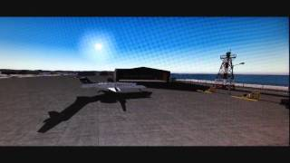 FS2004 Time Lapse Video   Unalakleet, AK airport (PAUN)-- Feb 22, 2014