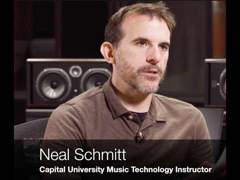 Brief overview of the Capital University Music Technology Program