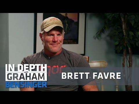 Brett Favre on beating up bros. with BBs, bricks, bats