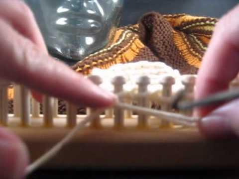 Loom Knitting Loose Cast Off Stitch
