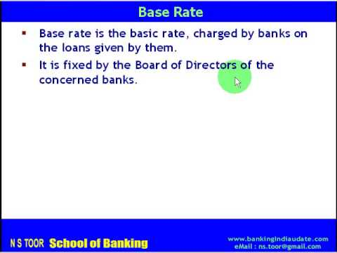 Interest Rate System in Indian Banking