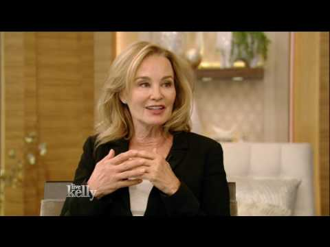 Jessica Lange On Live With Kelly - 3/16/2017
