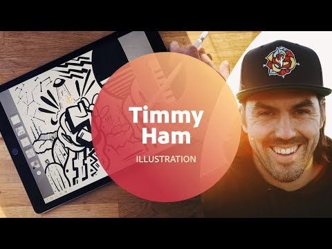 Live Illustration with Timmy Ham - 1 of 3