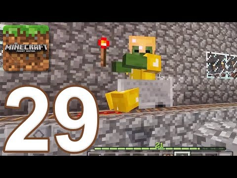 Minecraft: Pocket Edition - Gameplay Walkthrough Part 29 - Survival (iOS, Android)