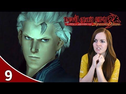 Nightmare Vergil Boss - Devil May Cry 3 HD Dante's Awakening Gameplay Part 9