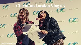 ClexaCon London Vlog #3 [Kat Barrell, Natasha Negovanlis, Elise Bauman, Annie Briggs]