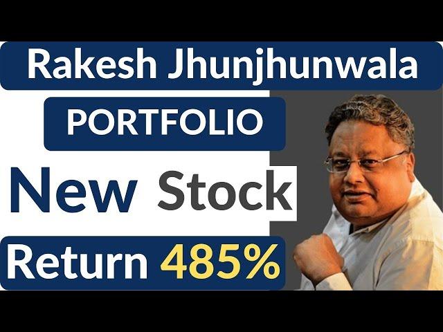 Rakesh Jhunjhunwala Portfolio 2021 latest   Rakesh Jhunjhunwala latest stock pick