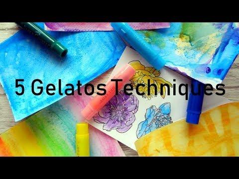 5 Gelatos Techniques
