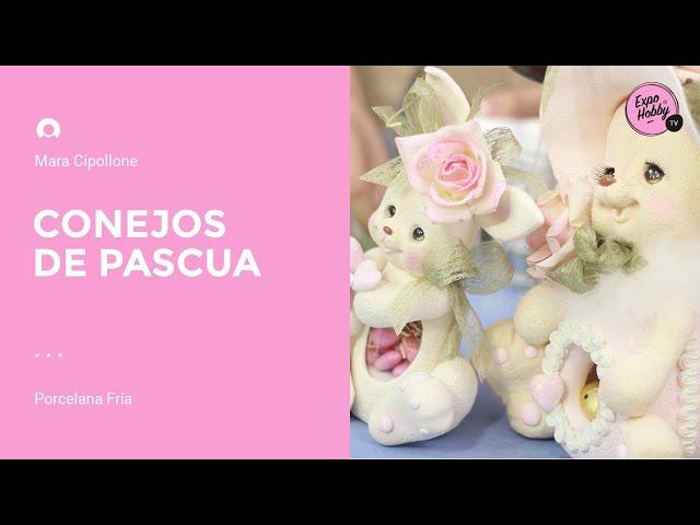 Expohobby TV (T04 - E03) Mara Cipollone - Porcelana fría