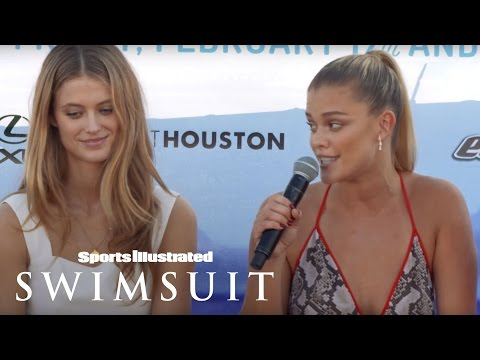 Nina Agdal Reveals What She Likes On A Man | Dating Tips | Sports Illustrated Swimsuit