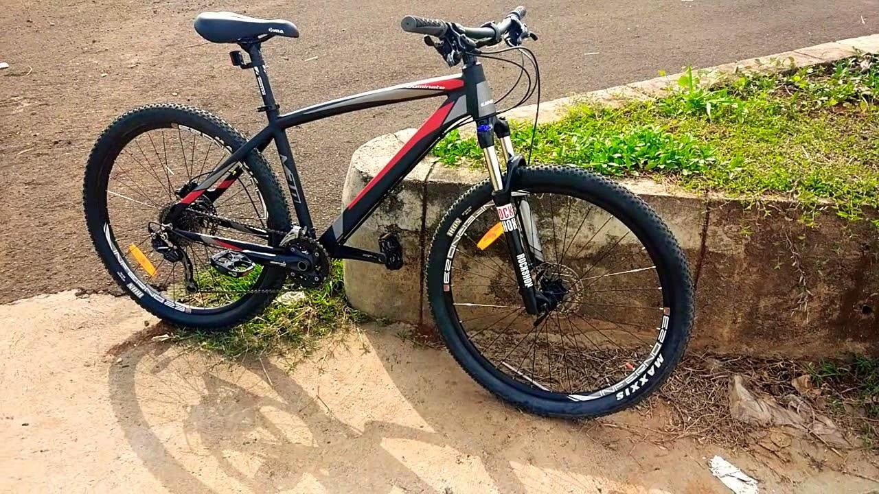 Sepeda MTB United Dominate M 3 Cocok buat Pemula - YouTube