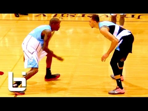 Jamal Crawford Hits Game Winner & Zach LaVine Breaks Ankles in Seattle Pro Am ASG!!