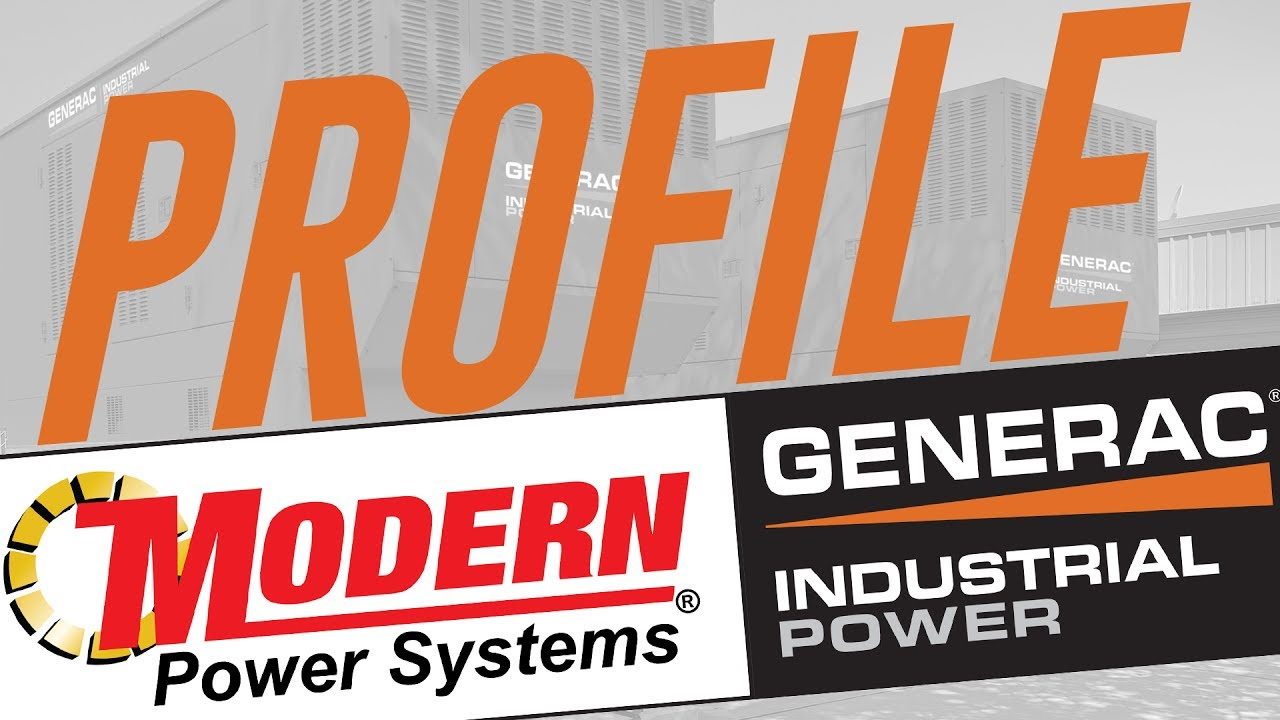 Modern Power Systems | Generac Industrial Generator Distributor For