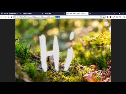 Bilder Zu WebP Konvertieren Und Auf Website Einfügen – Webdesign-Tutorial