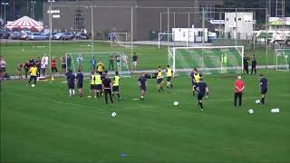 Belgian Football Coaches -demo training-Dessel.(28/08/2017)