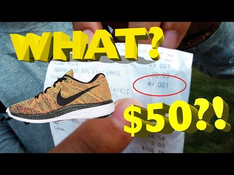 HOW TO GET SNEAKERS FOR CHEAP! ($120 Nike Shoes for only $50)
