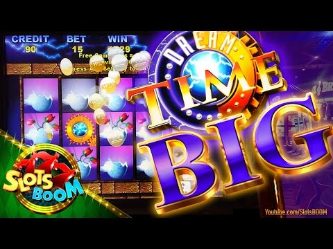 DREAM TIME BIG BONUS!!! 5c Aristocrat Video Slot in San Manuel Casino
